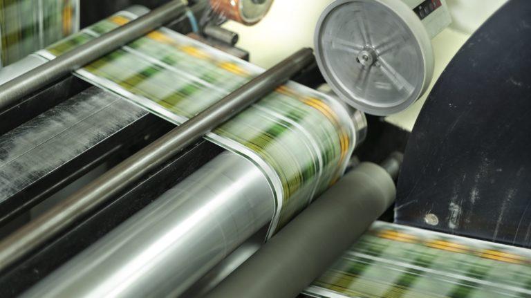 Production d'étiquettes